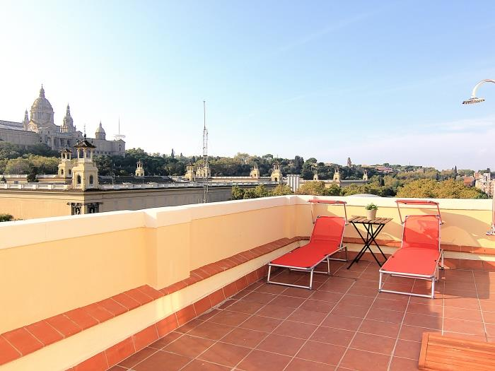 Penthouse Top Views - Barcelone appartements
