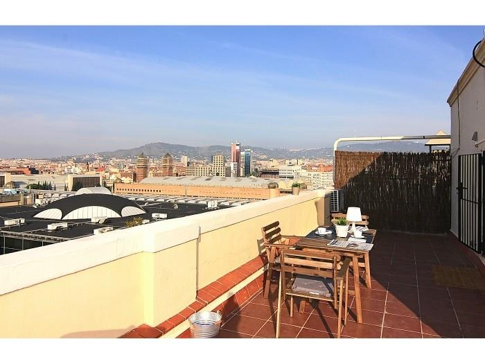 Penthouse Top Views - appartements Barcelone